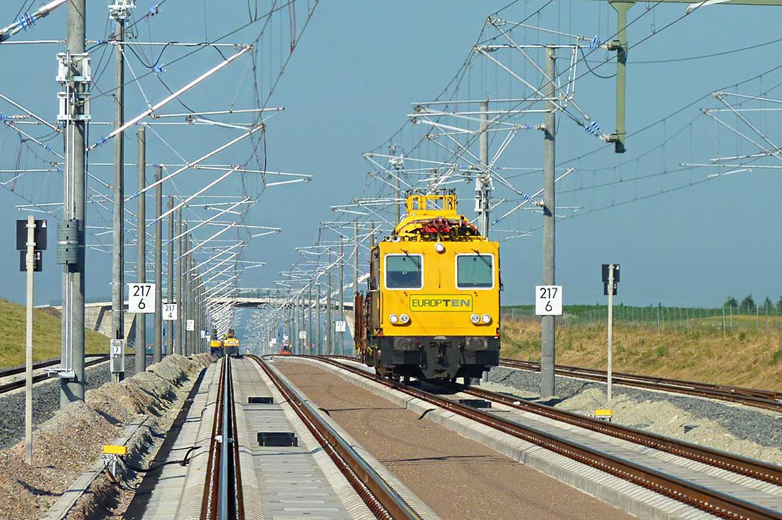 Fahrleitung Deutschland