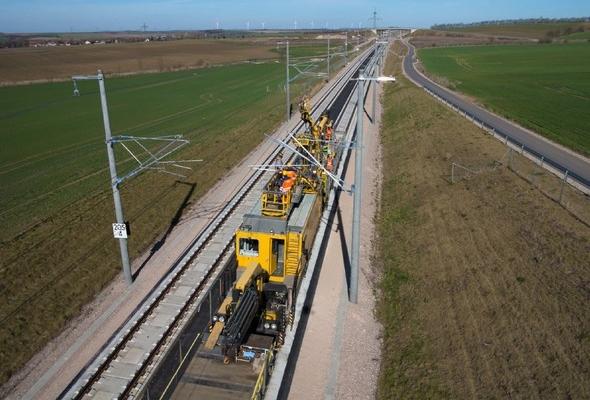 Neubaustrecke (NBS) Erfurt – Leipzig/Halle