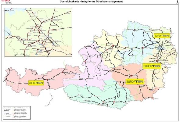 Rahmenverträge für Oberleitungsmontagearbeiten ÖBB