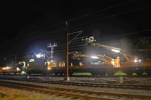 Elektrifizierungsprogramm Dänemark, Esbjerg – Lunderskov