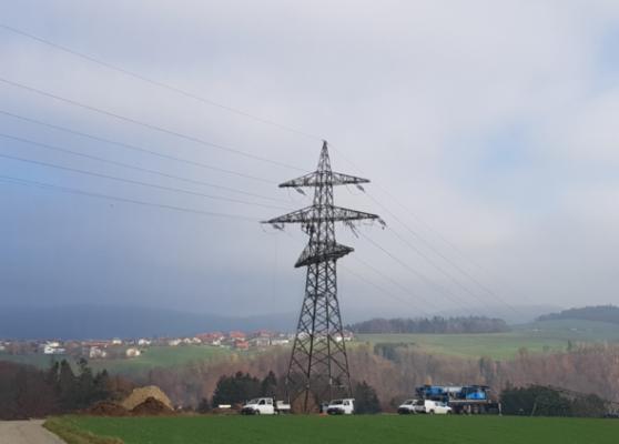 110 kV-Ltg. Partenstein – Ranna und Ranna – Rohrbach